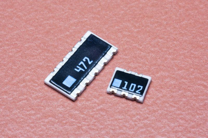 Bussed Type. Thick Film Network Resistor Assortment Kit Array Resistor